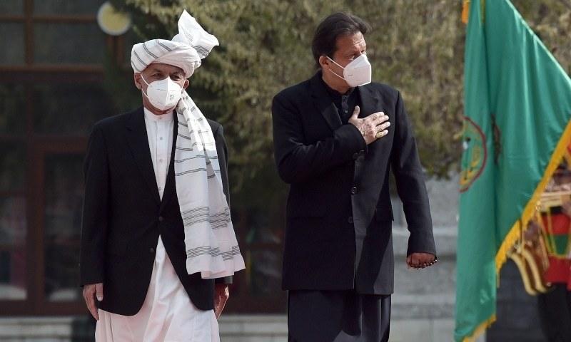 عمران خان نے 2018 میں وزارت عظمیٰ سنبھالنے کے بعد گزشتہ روز افغانستان کا پہلا دورہ کیا تھا — فوٹو: اے ایف پی