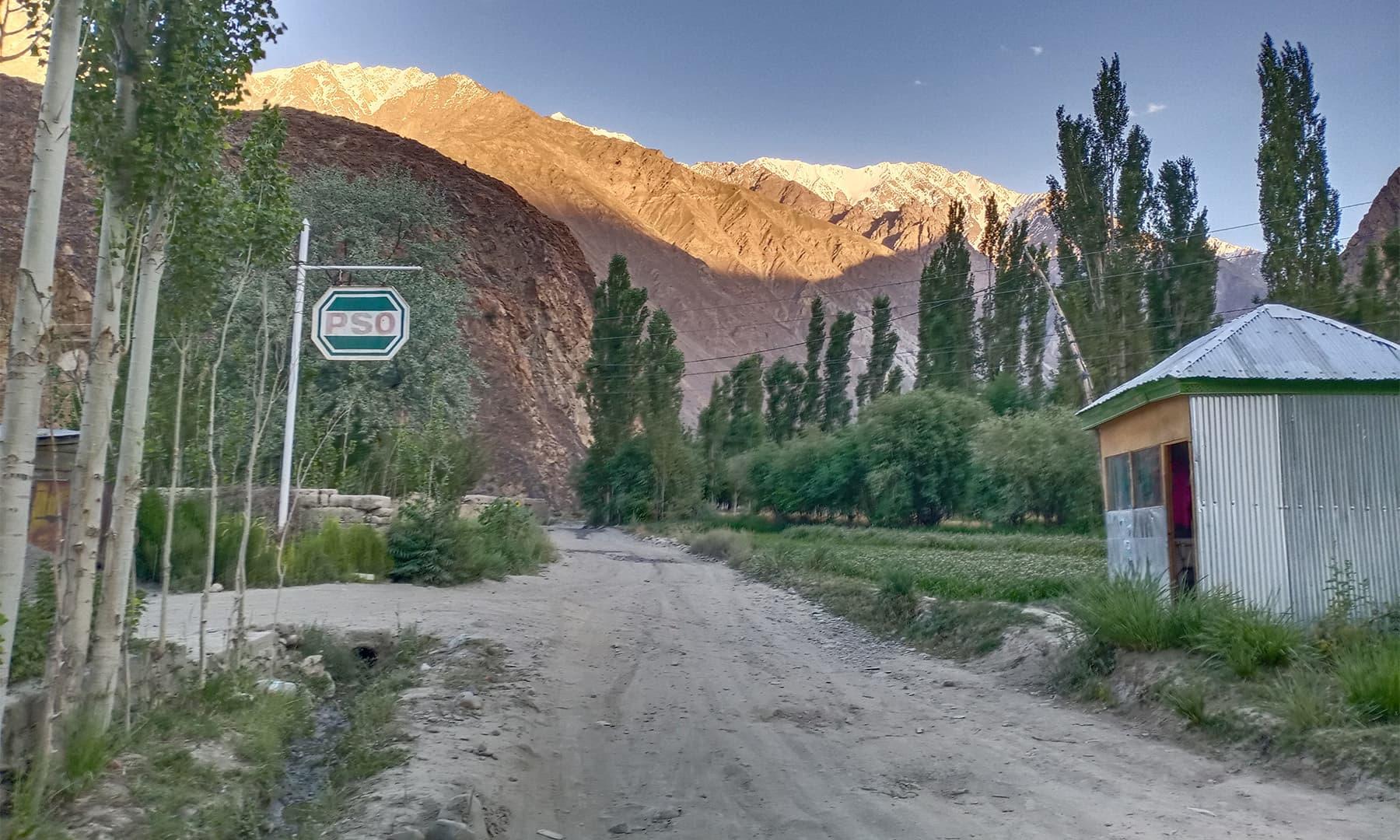 مستوج کا شہر شمالی چترال کا مرکز ہے