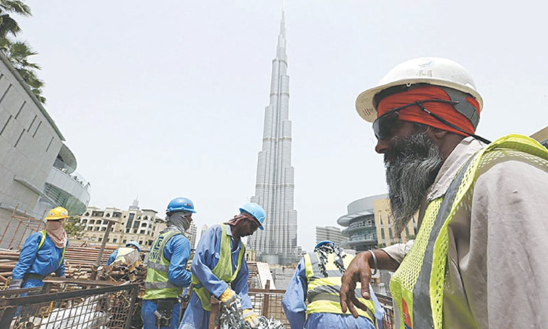 Around 91pc of the stranded Pakistani overseas workers were stuck in Saudi Arabia and the UAE.