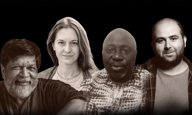پریس فریڈم ایوارڈ 4 صحافیوں کو مشترکہ طور پر دیا گیا—فوٹو: سی پی جے