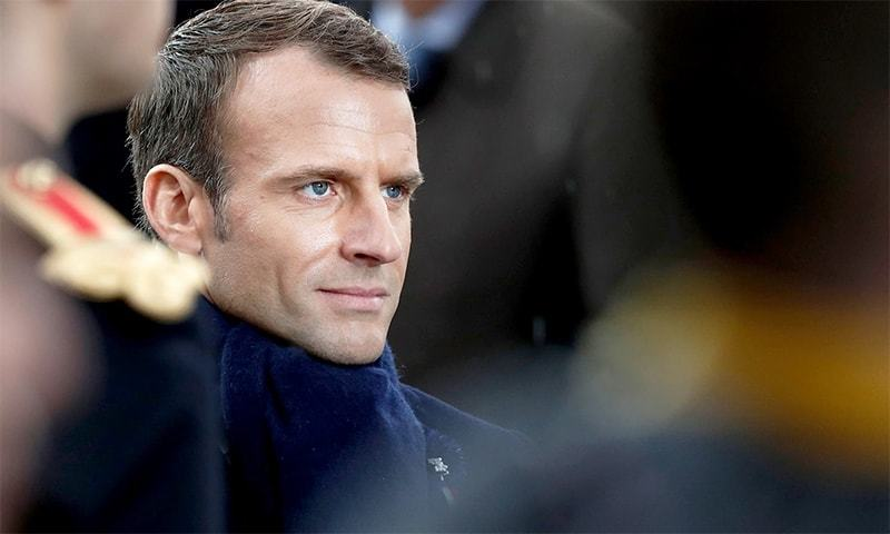 "French President Emmanuel Macron has asked Muslim leaders to agree to a ""charter of republican values"". — AFP/File"