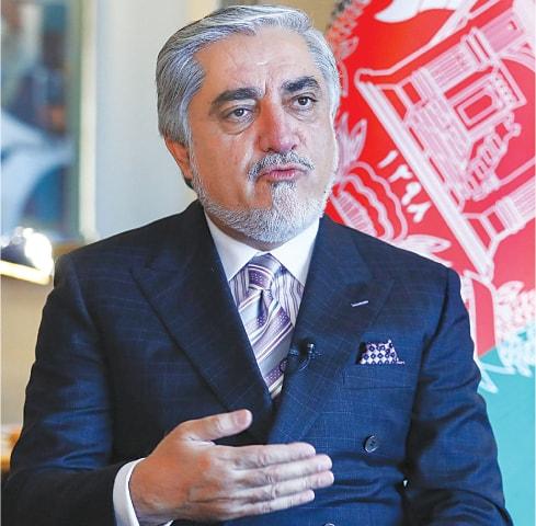 Abdullah Abdullah.—AFP