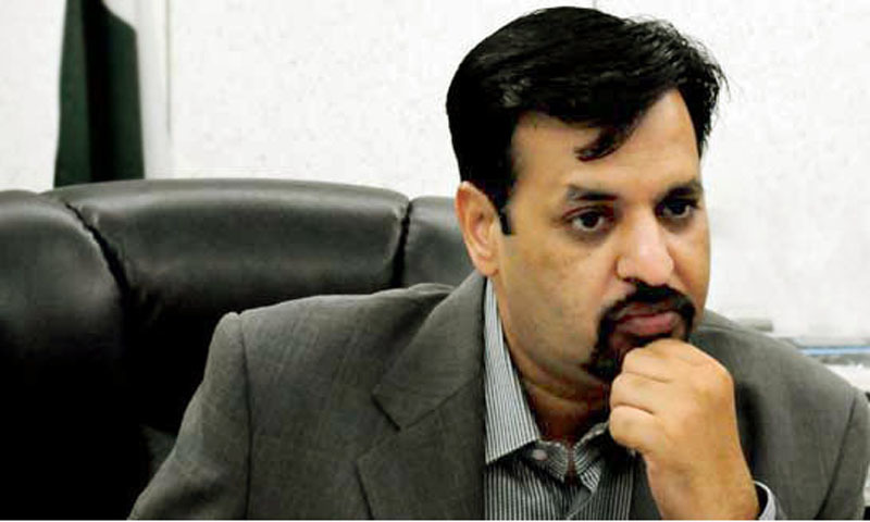 An accountability court on Saturday indicted former Karachi mayor and Pak Sarzameen Party chairman Syed Mustafa Kamal and nine others in a case pertaining to alleged illegal amalgamation of commercial land to Bahria Town for a multistorey building in Karachi. — File photo