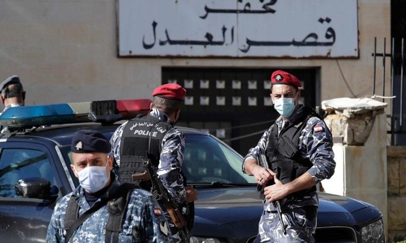 لبنانی پولیس نے قیدیوں کی تلاش کے لیے وسیع پیمانے پر آپریشن شروع کردیا—فوٹو: اے ایف پی