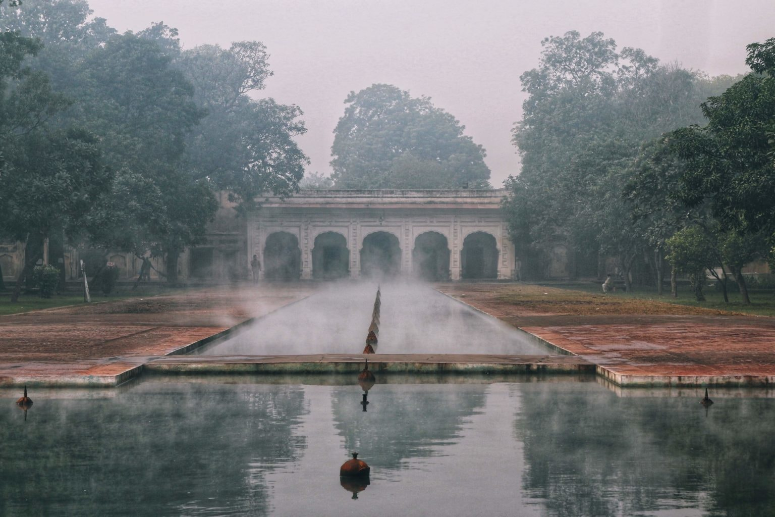 Another picture of the Shalimar Gardens in Lahore from December 2019. — Photo by Nida Sohail Chaudhary