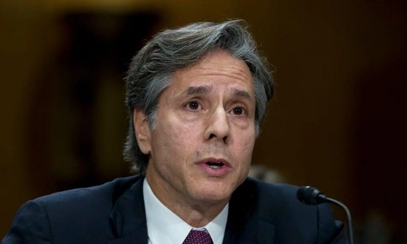 انٹونی بلنکن نے امریکی اسٹیٹ ڈپارٹمنٹ میں اپنے کیریئر کا آغاز کلنٹن انتظامیہ کے دور میں کیا تھا - فائل فوٹو:اے پی
