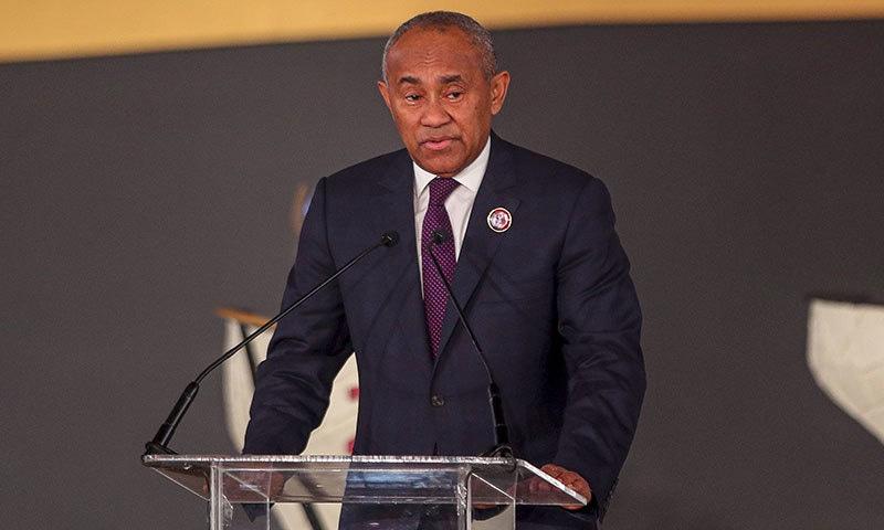 فیفا: کرپشن کے الزامات پر افریقن فٹ بال فیڈریشن کے صدر پر 5 سال کی پابندی