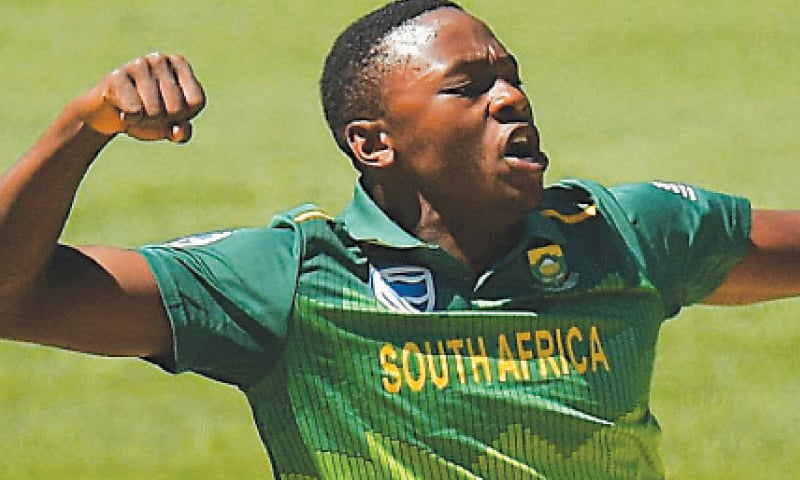 ast bowler Kagiso Rabada revealed on Monday that the South African cricket team are training in two groups to minimise the risk of further coronavirus infections