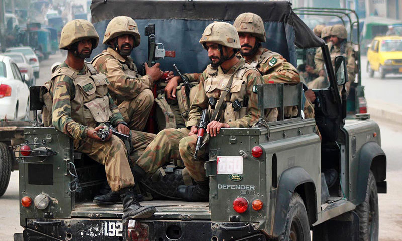 Security forces on Monday claimed to have killed two senior 'militant commanders' and arrested several others during an intelligence-based operation in Salarzai tehsil in Bajaur tribal district. — File photo