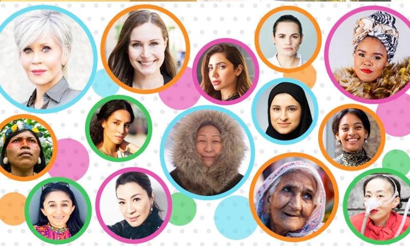 ماہرہ خان اور ثانیہ نشتر دنیا کی 100 متاثر کن خواتین میں شامل