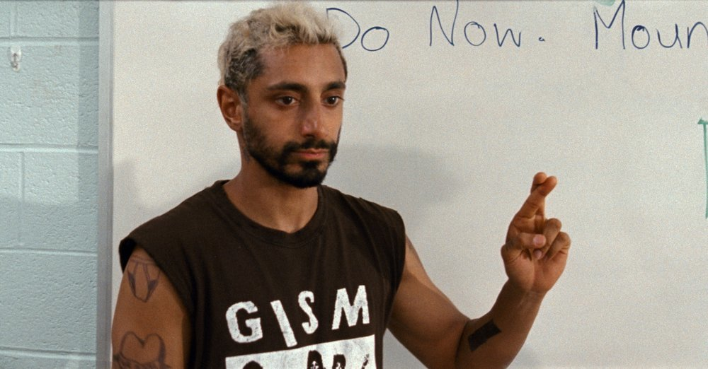 This image released by Amazon Studios shows Riz Ahmed in a scene from Sound of Metal. — via AP