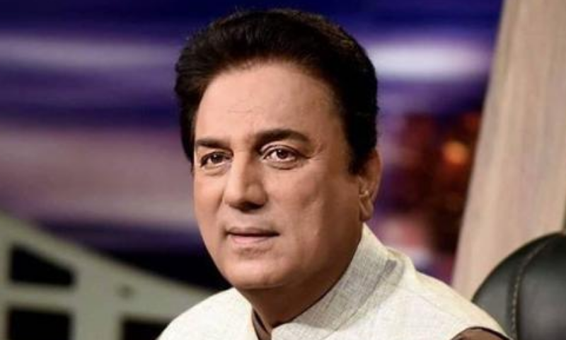 Newly appointed chairman of Pakistan Television Naeem Bukhari has hinted at 'blackout' of the opposition on PTV. — Photo courtesy Naeem Bukhari FB