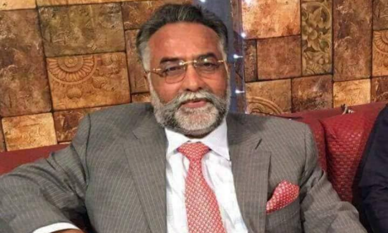 Pakistan Muslim league-Functional leader Faqir Jadam Mangrio died on Wednesday after battling Covid-19 at a private hospital in Karachi for two weeks. — Photo courtesy Faqir Jadam Mangrio FB
