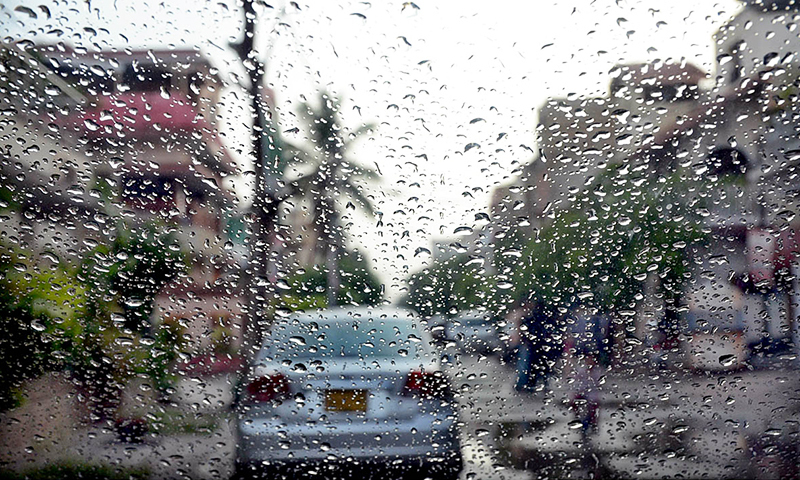 Tuesday's late-night rain spell across the city brought the wave of cold weather to Karachi heralding the beginning of the year's winter season on Wednesday when the temperature dropped to as low as 14 degrees Celsius. — APP