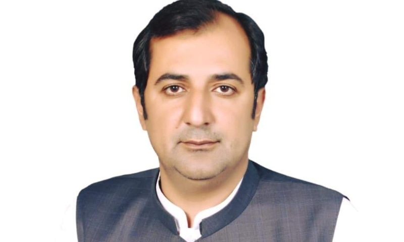 Prime Minister Imran Khan has nominated Khalid Khurshid as Pakistan Tehreek-i-Insaf's candidate for the post of chief minister of Gilgit-Baltistan. — Photo provided by Javed Hussain