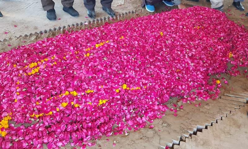 بیگم شمیم اختر کی جاتی امرا میں تدفین