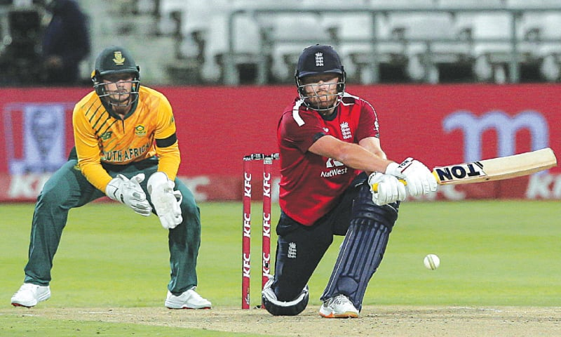Jonny Bairstow blasts England to thrilling win in South Africa