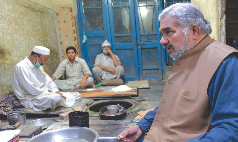 Sikandar-i-Azam, the current owner of the business, keeps the family legacy alive