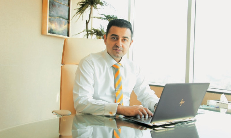 Hussain Agha, CEO of Agha Steel Industries