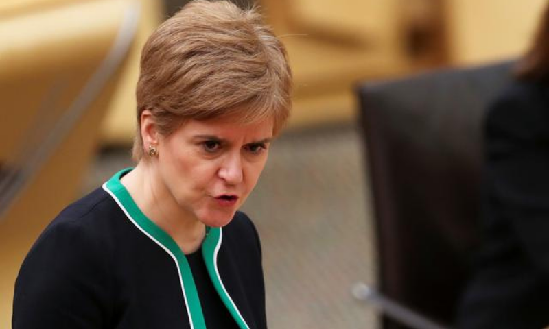 """Scotland's First Minister Nicola Sturgeon on Saturday said she had """"never been more certain"""" of achieving independence. — Reuters/File"""