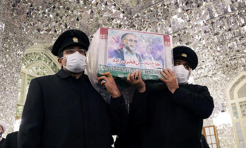 اسرائیلی وزیر اعظم کے دفتر نے محسن فخری کی ہلاکت پر کوئی تبصرہ کرنے سے انکار کردیا تھا—فوٹو: رائٹرز