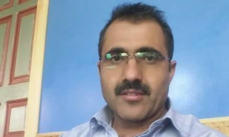 No clue was found on Sunday of missing Prof Dr Liaquat Sani (pictured), the head of Brahvi Department of Balochistan University, who was kidnapped on Saturday.