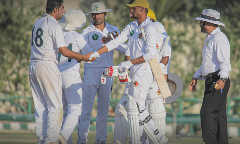 Khyber Pakhtunkhwa and defending champions Central Punjab held on stubbornly to deny their respective opponents as all three fifth-round fixtures in the Quaid-e-Azam Trophy ended in stalemates here on Sunday. — Photo courtesy PCB Twitter