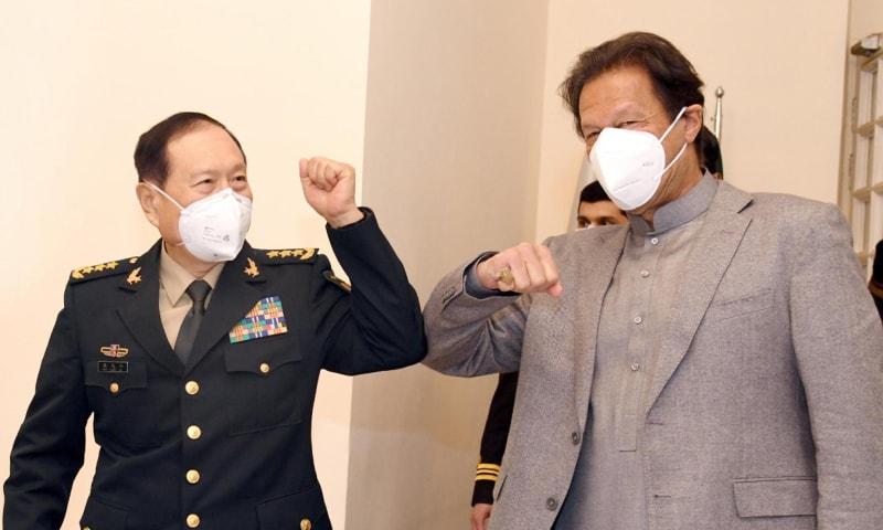 جنرل وے فینگے نے کہا کہ چین کی قیادت پاکستان کے ساتھ تعلقات کو انتہائی اہمیت دیتی ہے — فوٹو: پی آئی ڈی