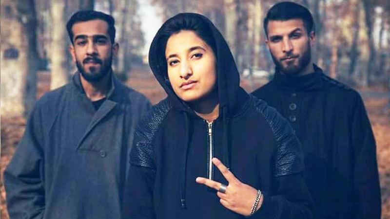 مقبوضہ کشمیر کی پہلی خاتون 'ریپر'