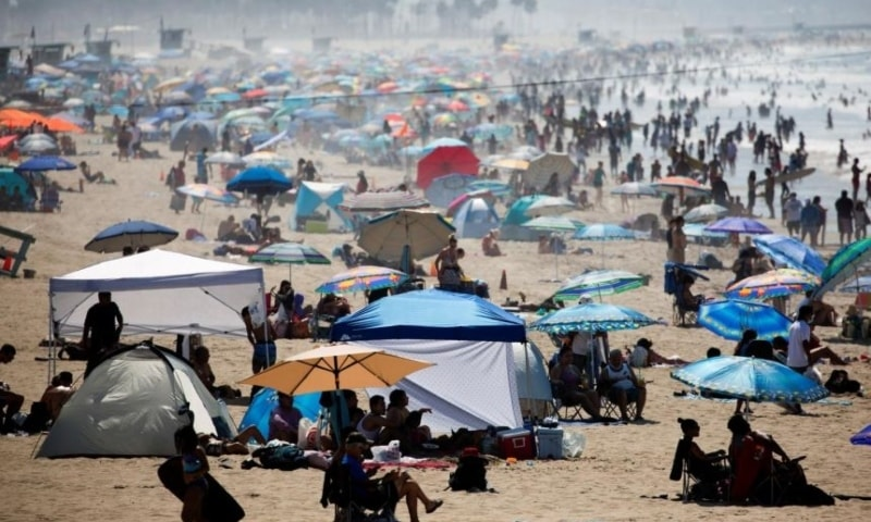This year is on course to be one of the three warmest ever recorded and could even top the record set in 2016, the United Nations said. — Reuters
