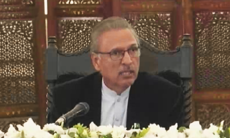 President Arif Alvi has issued a declaration to revive the already agreed SOPs for collective prayers in mosques and imambargahs. — DawnNewsTV