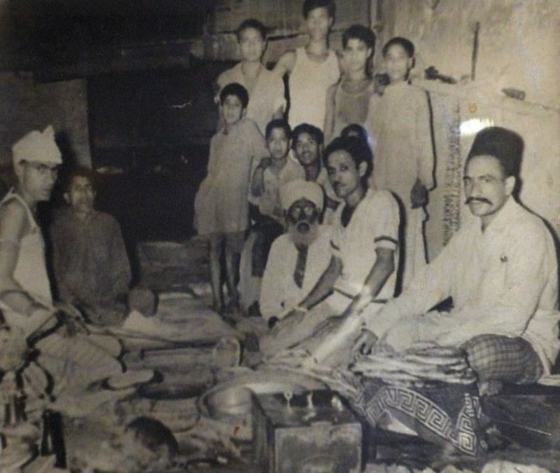 Centenarian and founder Jalal Din's photo still hangs in his naan shop