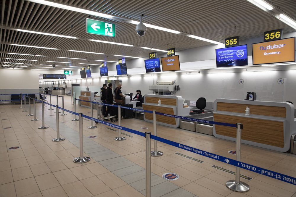 Israelis prepare to fly to Dubai at the Ben Gurion airport near Tel Aviv, Israel, Thursday, Dec. 3, 2020. — AP