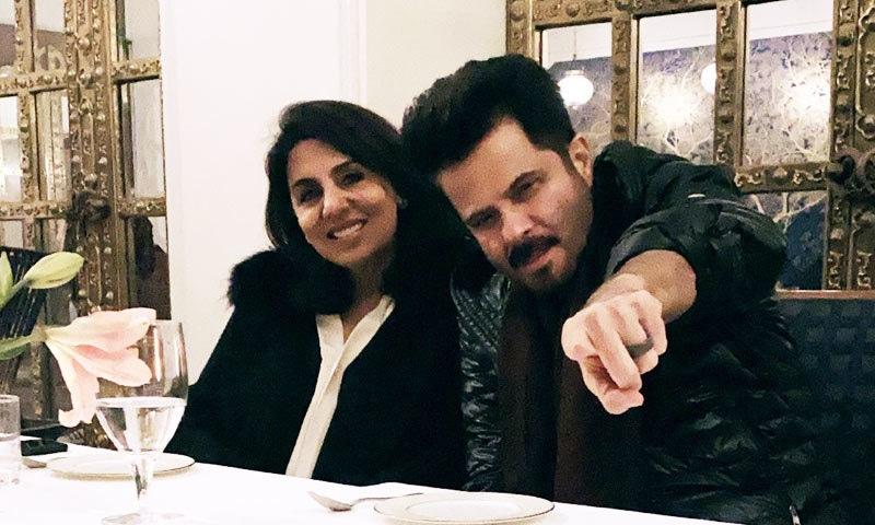 فلم میں ممکنہ طور پر انیل کپور و نیتو کپور والدین کا کردار ادا کریں گے—فوٹو: انیل کپور ٹوئٹر