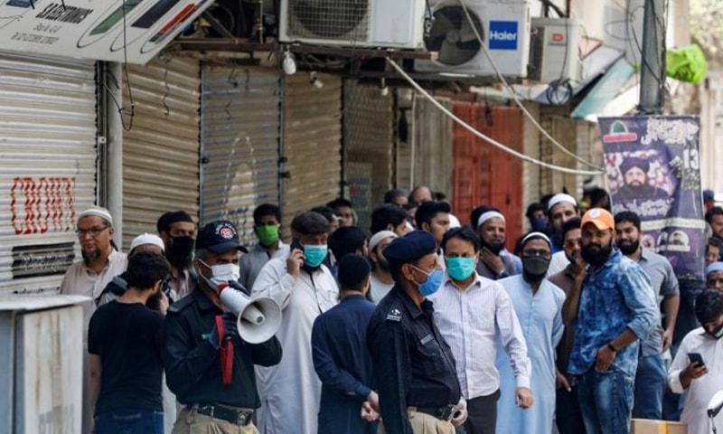 کورونا کی دوسری لہر: کراچی میں مثبت کیسز کی شرح سب سے زیادہ