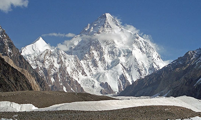 مقامی طور پر چھغوری کے نام سے مشہور پاکستان کی سب اونچی چوٹی 'کے 2'
