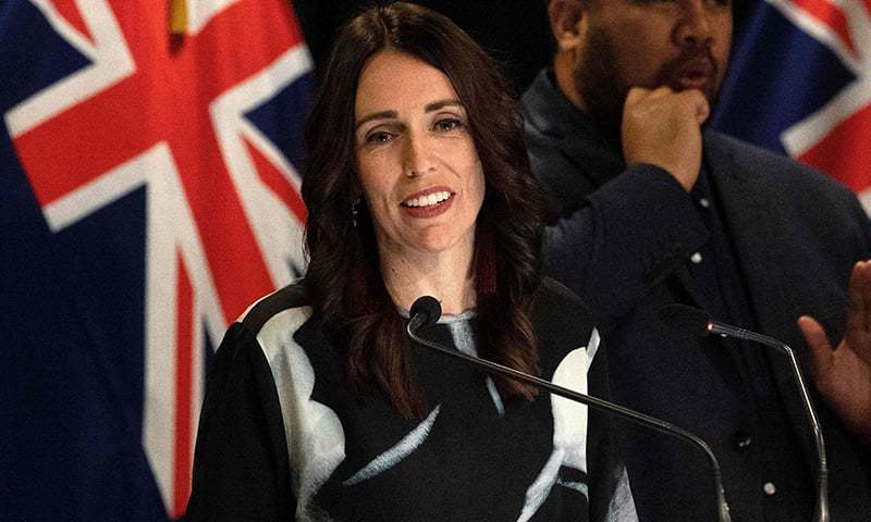 New Zealand Prime Minister Jacinda Ardern fends off questions from the media in Wellington on April 15, 2019. — AFP/File