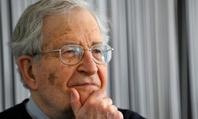 Professor Noam Chomsky said that no crisis that the world is facing is inevitable. — AFP/File