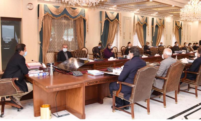 وزیر اعظم عمران خان کی زیر صدارت کابینہ کا اجلاس ہوا— فوٹو: پی آئی ڈی