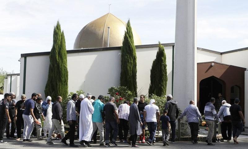 دہشت گرد نے جمعے کے دن مساجد پر حملہ کیا تھا—فائل فوٹو: اے پی