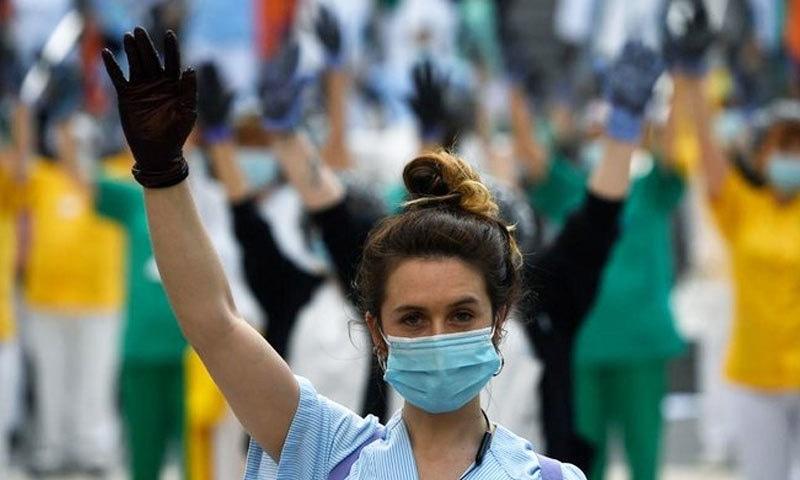 دنیا بھر میں سب سے زیادہ کورونا وائرس سے متعلق معلومات کو تلاش کیا گیا—فائل فوٹو: اے ایف پی