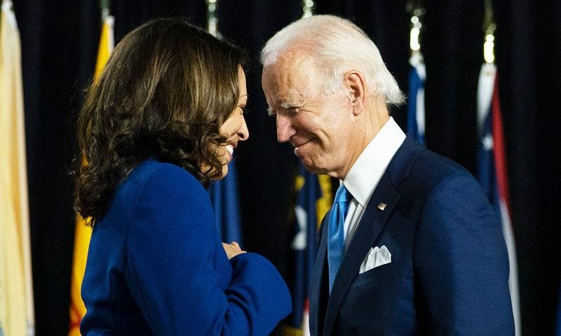 جوبائیڈن اور کمالا ہیرس ٹائم میگزین کے 'پرسن آف دی ایئر' قرار