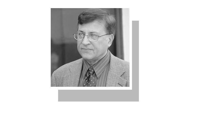 The writer taught physics and mathematics at Quaid-e-Azam University for 47 years.