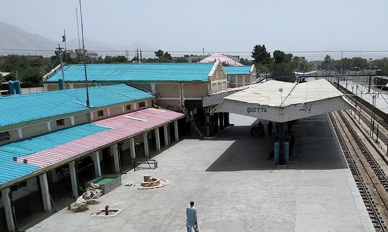 کوئٹہ ریلوے اسٹیشن