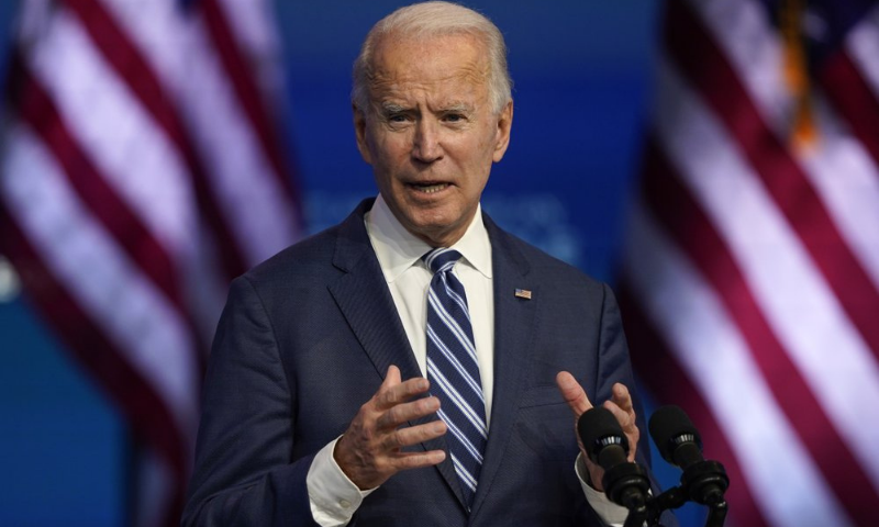 US President-elect Joe Biden pledged on Saturday to rejoin the Paris climate accord on the first day of his presidency. — AP/File
