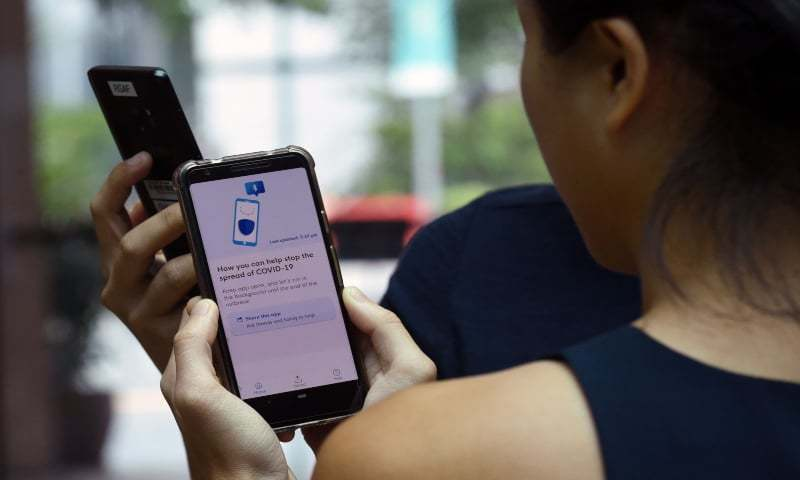 A Pakistani doctor based in Toronto has introduced an instant Covid-19 diagnostic test using a smartphone. — AFP/File