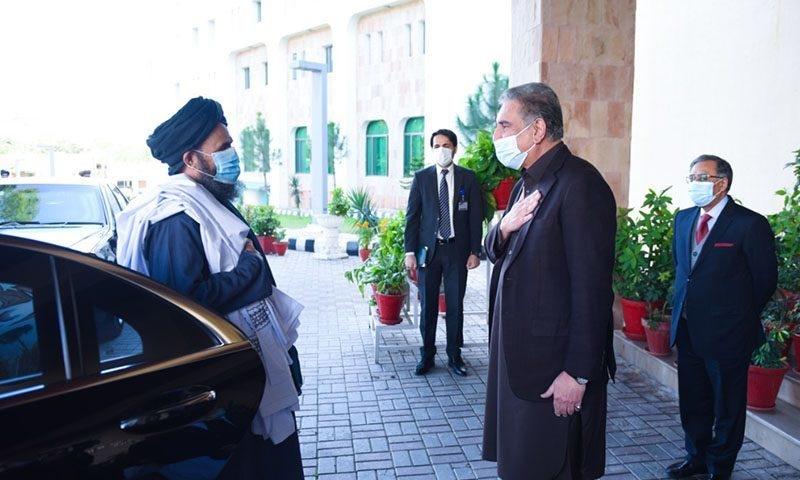 افغان طالبان کے وفد کی اسلام آباد آمد، وزیر خارجہ سے ملاقات