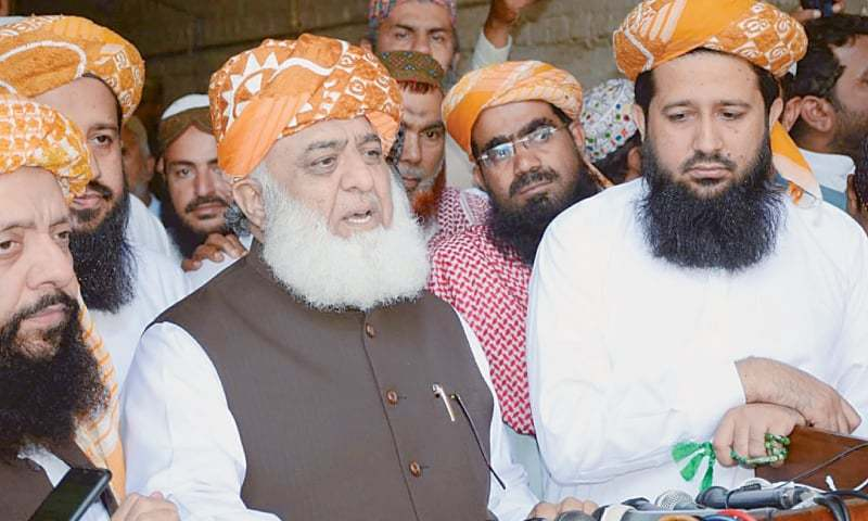 Pakistan Democratic Movement chief Maulana Fazlur Rehman has claimed that the Senate election through show of hands will not be possible. — PPI/File