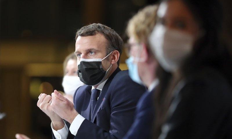 فرانسیسی صدر ایمانوئیل میکرون کورونا وائرس سے متاثر