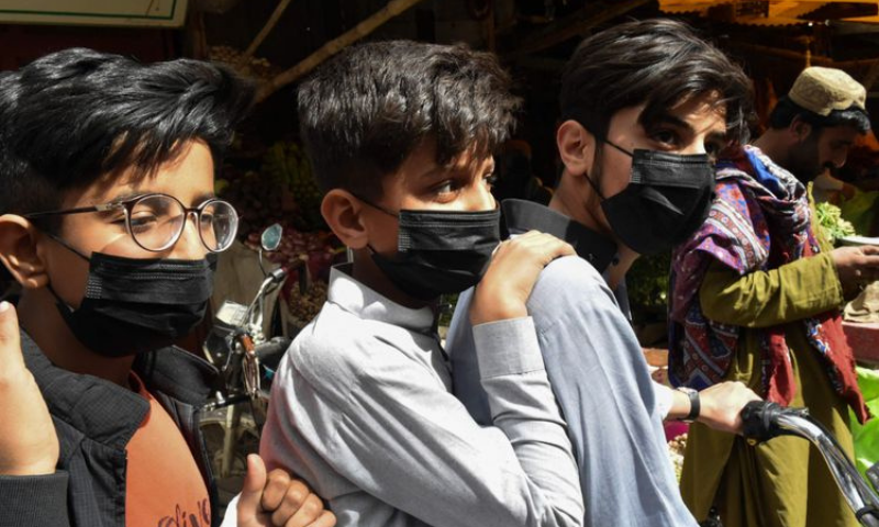 """""""The second Covid-19 wave is more severe and is infecting youth as well,"""" Health Net Hospital CEO Prof Syed Amjad Taqweem said. — AFP/File"""